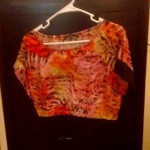 It is a short dress shirt